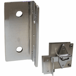 Keeper for Concealed latch cover Plate kit
