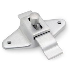 Oval Shape Latch w/Offset Cast Stainless Steel