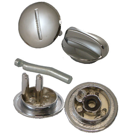 Latch Knob and Cover with Offset Pin