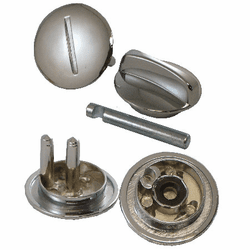Latch Knob and Cover with Straight Pin