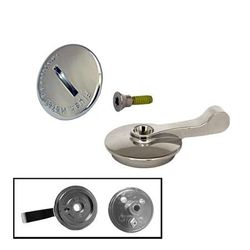 Flushmetal New Style Latch Knob and Cover with Screw