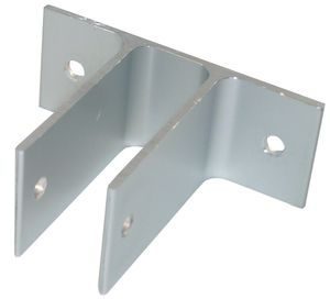 "1.5"" High 2 Ear Aluminum Bracket for 1"" Thick Panels/Pilasters"