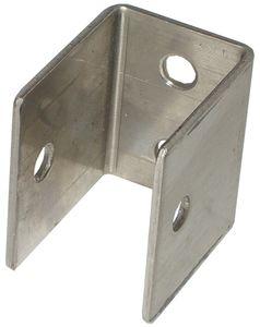 "Panel/Pilaster ""U"" Bracket, 1.5"" High"