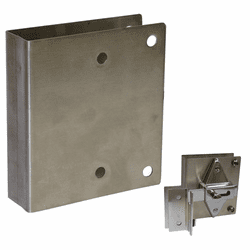 Plate for Concealed Latch Cover Plate Kit