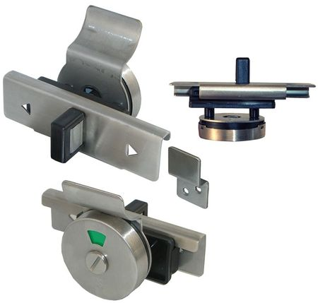 """Slide latch with """"Occupied"""" Indicator"""
