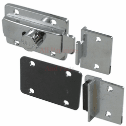 Solid Plastic Latch, Keeper, Stop Kit