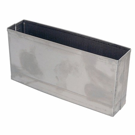 """Square Edge 3"""" High Pilaster Shoe 1.25"""" Thick"""
