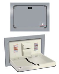 Stainless Steel Horizontal Baby Changing Station