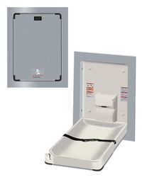 Stainless Steel Vertical Baby Changing Station