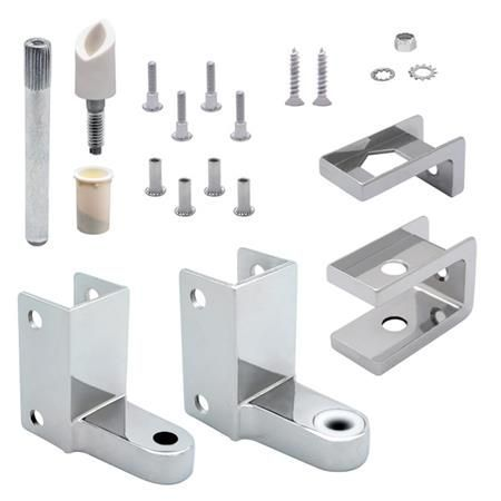 """Top and Bottom Hinge Set for 1"""" Doors & Pilasters"""