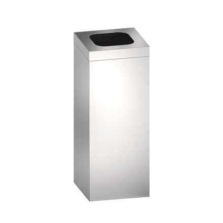 Open Top Free Standing Waste Receptacle