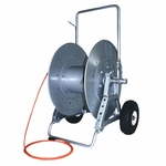 Cable / Air Hose Reel with Wheels, 300 ft