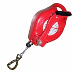 ISC Fall Protection Lifeline with Recovery Winch