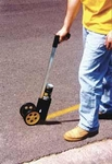 Measuring Wheel with Paint Can Holder