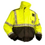 Mustang Survival MJ6214T3 ANSI Flotation Jacket with High Visibility