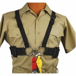 Public Safety Dive Chest Harness