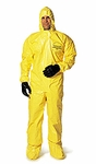 Dupont� Tychem� QC Coverall w/Hood & Boot, Case of 12