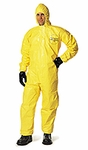 Dupont Tychem� QC Coverall w/Hood, Case of 12