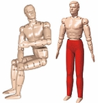 Simulaids 9000 Randy Training Manikin
