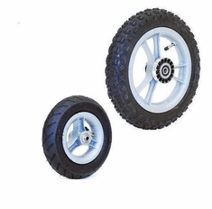 "Convaid 7.5"" x 2"" Front, 12.5"" Rear Pneumatic Knobby Tires"