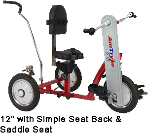 """AmTryke 12"""" STANDARD Special Needs Tricycle"""