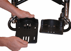 Convaid Angle Adjustable Footplates