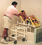 EZ Access Bath Bed Slide Transfer System