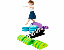 bObles Large Obstacle Course Set - Gross Motor Toys - Balance - Coordination