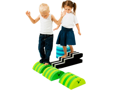 bObles Small Obstacle Course Set - Gross Motor Toys - Balance - Coordination