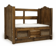 Beds by George Clear View Back Panel for Hi Side Beds - UPGRADE
