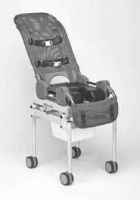 Columbia Medical Ultima Access Rolling Shower/Commode Chair