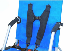 Convaid Cushioned Shoulder Harness Plus 3-Point Positioning Belt