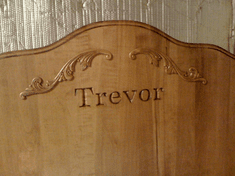 Beds by George Custom Engraving - UPGRADE