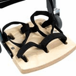 Leckey Footplate with Sandal Straps - Size 4