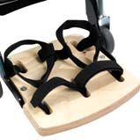 Leckey Footplate with Straps - Size 1
