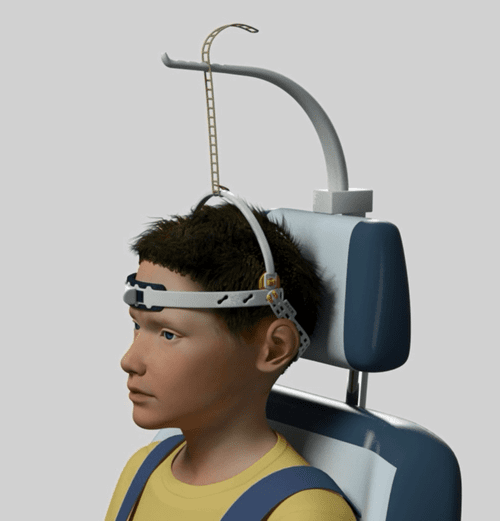 HeadPod Head Support System - Special Needs Seating Head Control - Adaptive Seating Head Support