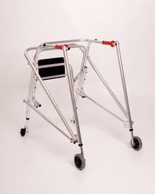 Kaye Products 4 Wheeled Walker w/ Silent Bearing Wheels w/ Seat