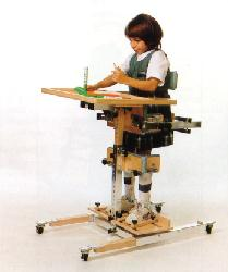 Kaye Products Vertical Stander with Casters