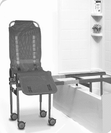 Columbia Medical Ultima Bath Transfer with Compact Base