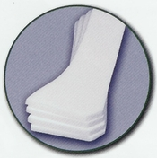 Columbia Medical 4 White Foam Lateral Cushions