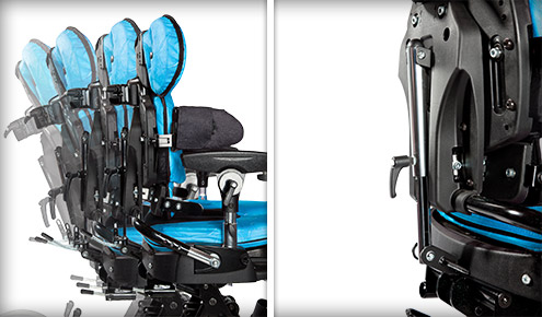 Leckey Mygo Dynamic Backrest Kit