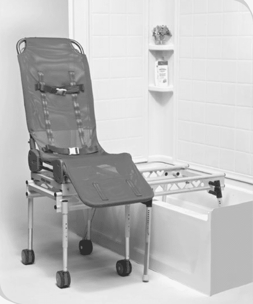 Columbia Medical Ultima Bath Transfer with Foldable Base