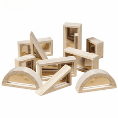 Guidecraft Mirror Blocks 10 Piece Set