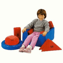 Tumble Forms Modular Box & Blocks Seat  Complete With 8 Positioning Modules