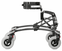Mustang Gait Trainer, Size 4, SILVER