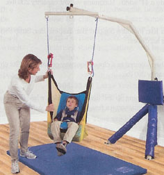 Tumble Forms Net Swing with Positioning Seat