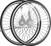 "Rifton Pair of 20"" Wheels"