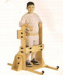 Theradapt Primary/Intermediate Vertical Stander