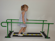 R.E.A.L. Design Parallel Bars & Walk On Base