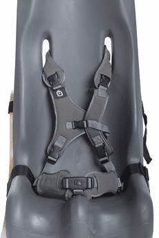 Special Tomato Replacement 5-Point Harness Strap Set - Gray